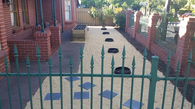 Finished vegetable garden bed in Wayville Adelaide